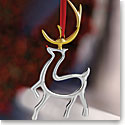 Nambe 2016 Reindeer Ornament