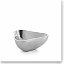 Nambe Metal SixtyFive Tri Bowl, Small