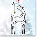 Nambe 2017 Reindeer Ornament