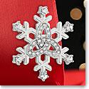 Cashs Sterling Silver Snowflake Pin