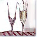 Waterford Alana Essence Toasting Flutes, Pair