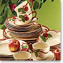 Wedgwood China Fraciscan Apple 6 pc Completer Set