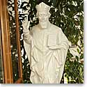 Belleek China Saint Patrick Figurine