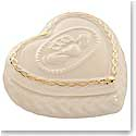 Belleek China Claddagh Keepsake Box