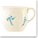 Belleek Bunny Baby Cup - Blue