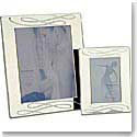 "Waterford Silver Ballet Ribbons 5x7"" Frame"