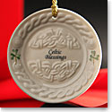 Belleek China 2016 Celtic Blessing Ornament