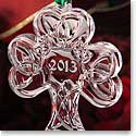 Cashs Celtic Small Shamrock Ornament 2013