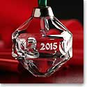 Cashs Crystal 2015 Shamrock Ball Ornament