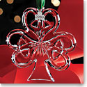 Cashs Crystal 2016 Shamrock Christmas Ornament