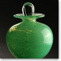 Cashs Art Glass Forty Shades of Green, Pefume Bottle