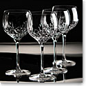 Cashs Crystal Annestown Balloon Red Wine Glasses, Set 2+2 Free