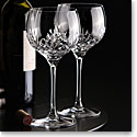 Cashs Crystal Annestown Balloon Wine, Pair