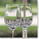 Cashs Annestown White Wine Glass, Pair