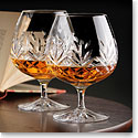 Cashs Crystal Annestown Large Brandy Glasses, Buy One Get One Free