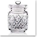 Cashs Crystal Cathedral Biscuit Barrel with Lid