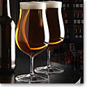 Cashs Crystal Grand Cru Footed Craft Beer Glasses, Pair
