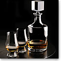 Cashs Crystal Grand Cru Whiskey Tasting Set, Decanter, Pair of Tasting Glasses