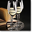 Cashs Crystal Grand Cru White Wine Glasses, Set 3+1 Free