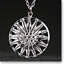 Cashs Crystal Wild Irish Rose Pendant Necklace