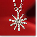 Cashs Sterling Silver Manach Snowflake Pendant Necklace, Small