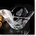 Cashs Crystal Art Collection, Monarch Butterfly Bowl Limited Edition