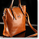 Cashs Top Grain Leather Camel Adare Tote Handbag, Limited Edition