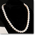 Cashs Akoya Perfect Round Seawater High Luster White Pearl Necklace
