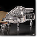 Cashs Crystal Art Collection, Baby Grand Piano Sculpture, Limited Edition