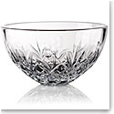 "Cashs Crystal Lucky Shamrock 10"" Bowl"