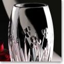 "Cashs Crystal Shamrock 10"" Rose Vase"