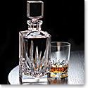 Cashs Crystal Shannon Single Malt Whiskey Square Decanter