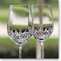 Cashs Shannon White Wine Glasses, Pair