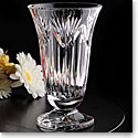 "Cashs Crystal Thistle 8"" Footed Vase"