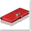 Cashs Top Grain Leather Red Avondale Wallet Purse