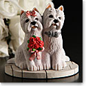 Cashs Wedding Pair Westies