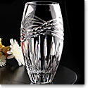 "Cashs Crystal Wild Atlantic Way 10"" Vase, Limited Edition"