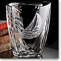 Cashs Crystal Art Collection Sailing Series Windward Vase, Limited Edition