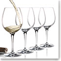 Cashs Crystal Wine Cru Chardonnay Glasses, Set of 4