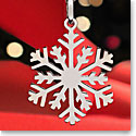 Cashs Sterling Silver Winter Snowflake Pendant Necklace