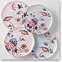 Wedgwood China Cuckoo Tea Plates, Set of Four