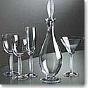 Lalique Diamant Water Glass Set of 2 - 7 2/5""