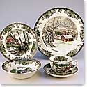 Johnson Brothers China Friendly Village Covered Sugar Bowl