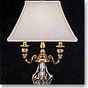 Waterford Glenn Lamp and Shade, 17 1/2