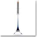Orrefors Intermezzo Blue Candlestick, Single