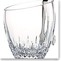 Waterford Lismore Essence Angled Top Ice Bucket With Tongs
