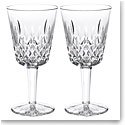 Waterford Classic Lismore Goblet, Pair