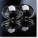 Lalique Arethuse Clip Earrings, Black