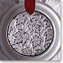 Lalique 2015 Annual Ornament de Noel Champs-Elysees, Clear