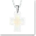 Lalique Amoureuse Passionnement Cross Pendant, Opal